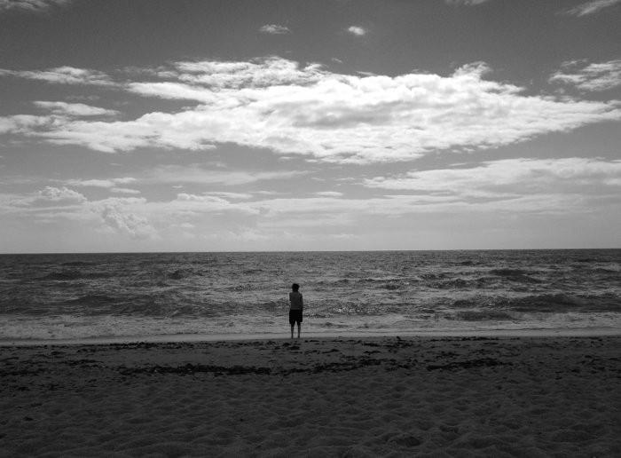 la spiaggia di Cadice