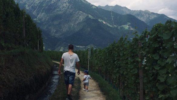 I sentieri delle Rogge a Merano