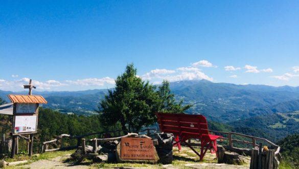 Appennino Reggiano e la Big Bench del Monte Fosola