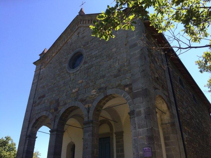 La chiesetta sul Monte Calvario vicino Montefiorino (MO)