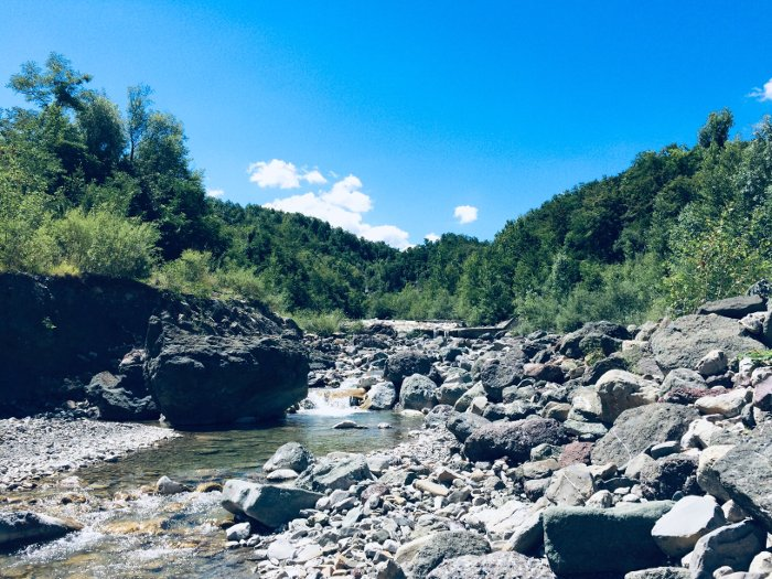 Il torrente Dragone nel Parco delle Ofioliti