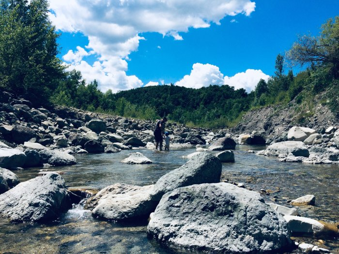 Avventura sul torrente Dragone