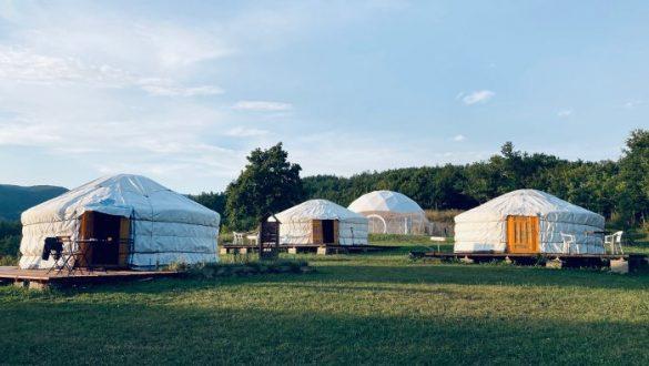 dormire in una yurta in Emilia Romagna