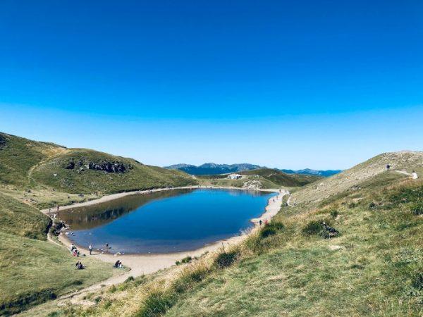 Lago Scaffaiolo con bambini