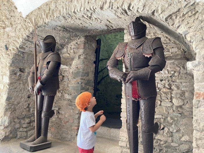 Visitare il Castello di Bardi