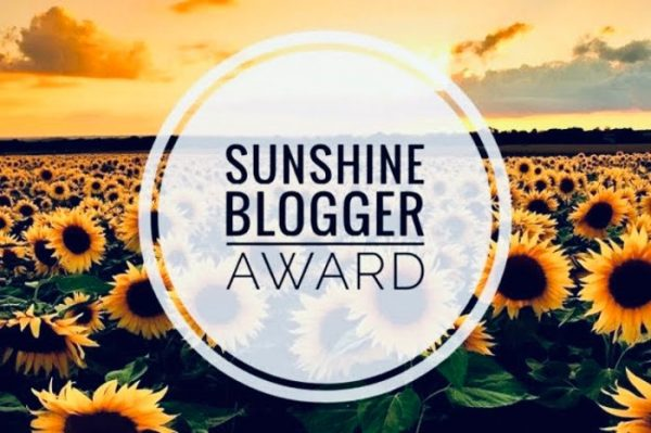 sunshine blogger award andiamo all'avventura