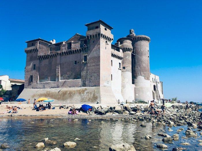 Il castello di S. Severa vicino Roma