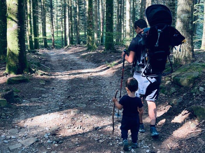 Escursioni in montagna per famiglie