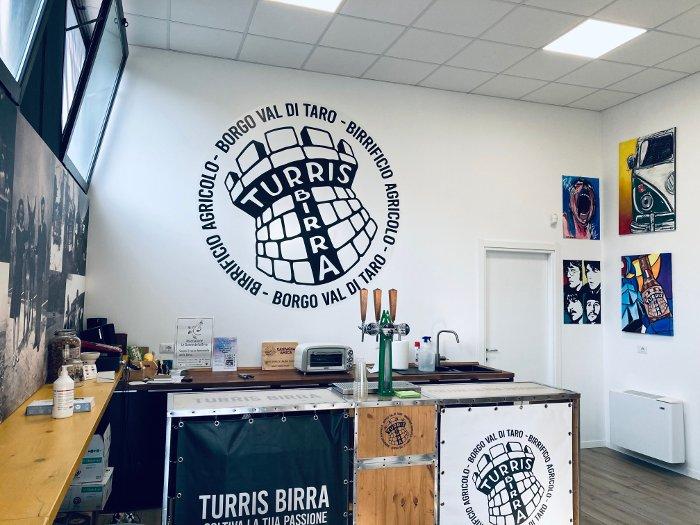 Il birrificio artigianale Turris a Borgo Val Taro