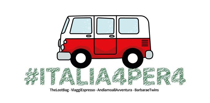 scoprire l'Italia con #italia4per4
