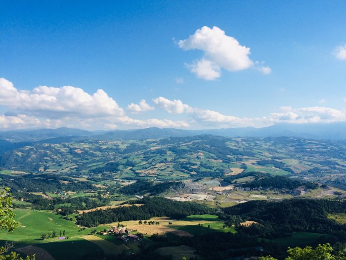 La valle del Secchia