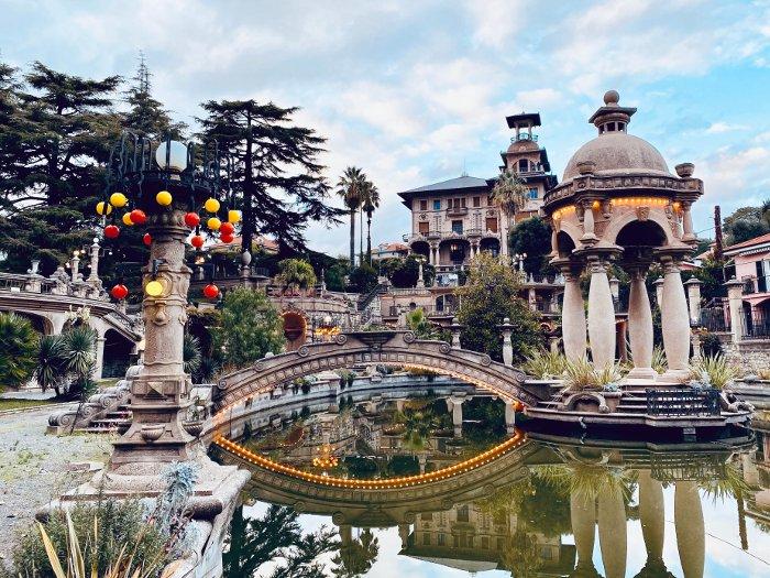 Museo insolito in Liguria: villa Grock