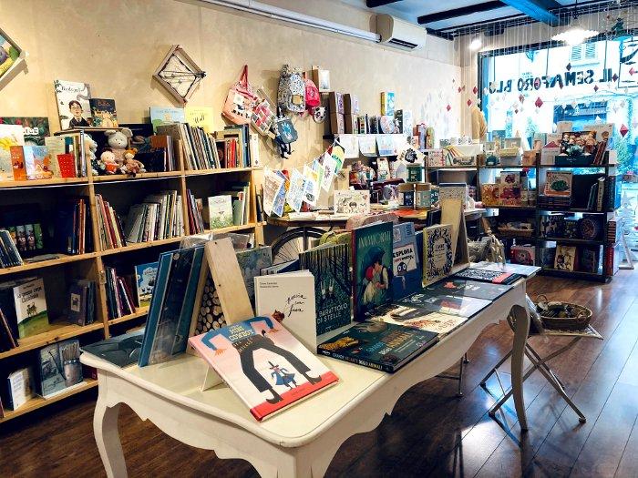 Libreria per bambini Semaforo Blu a Reggio Emilia