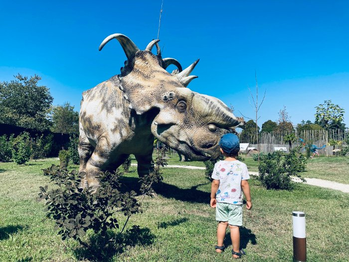 Dinosauri in Carne ed Ossa a S. Lazzaro di Savena (BO)