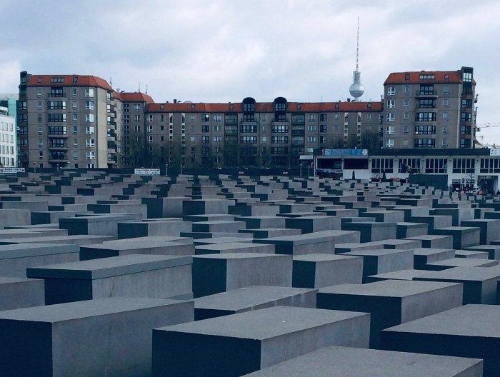 Holocaust Mahnmal a Berlino