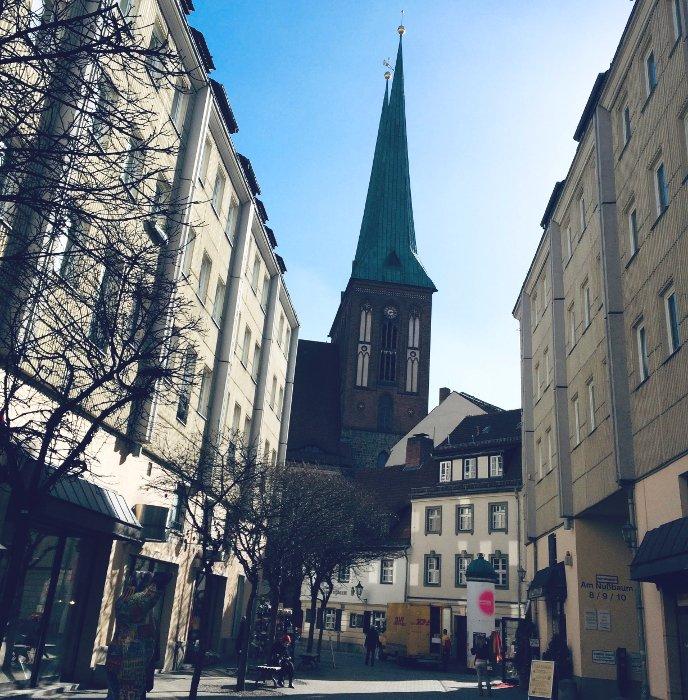 Passeggiare per i quartieri di Berlino