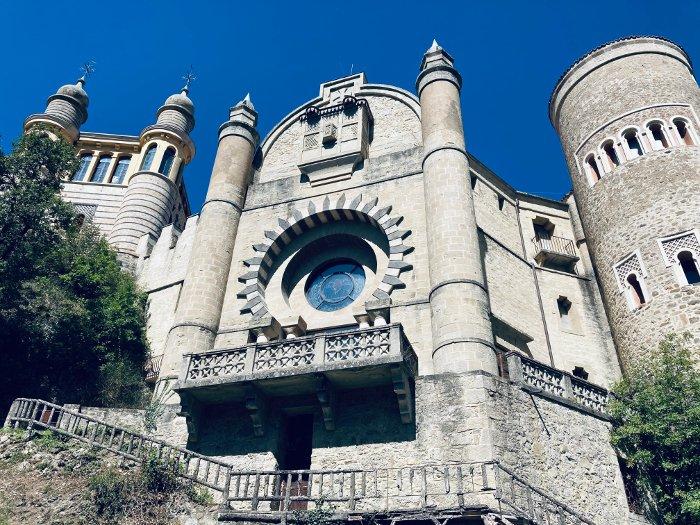 L'architettura della Rocchetta Mattei
