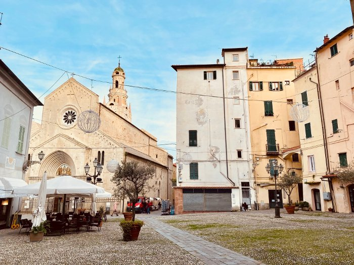 Il quartiere San Siro a Sanremo