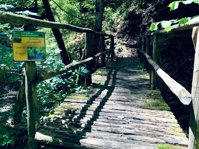 Sentiero dei Ponticelli di Roccamalatina
