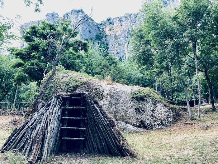 La Pietra di Bismantova vicino Castelnovo ne' Monti