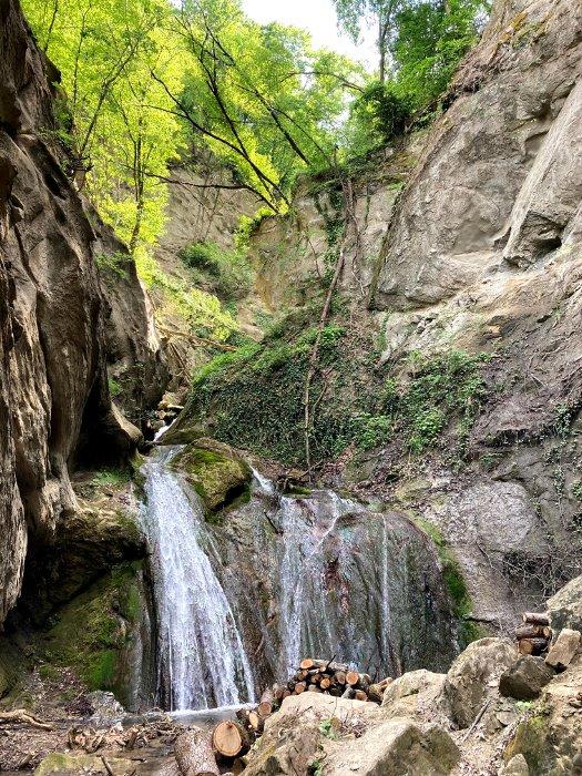 Le cascate della Val Tassaro nell'Appennino Reggiano