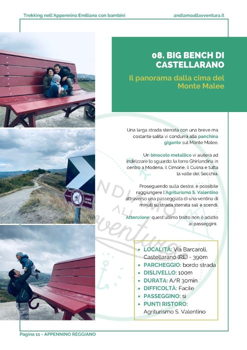 Mini Guida ai trekking per famiglie in Appannino Emiliano