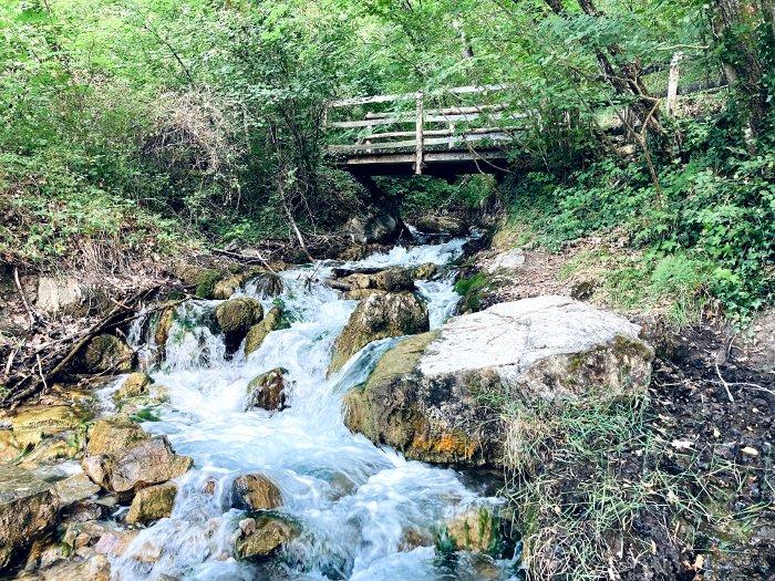 Fonti di Poiano vicino Castelnovo ne' Monti
