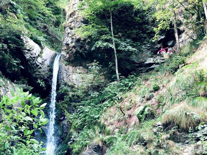 La cascata di Tumpi la Pisso in Val Varaita