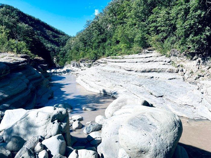 Le gole del torrente Dolo