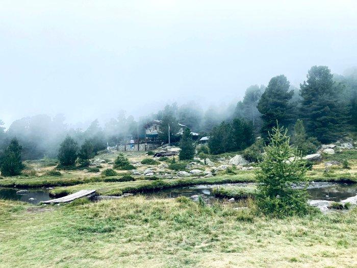 Rifugio e Lago Bagnour