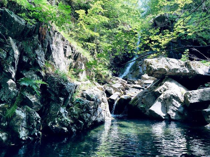 La Cascata di Sassorso a Sant'Annapelago