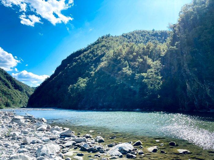 Le spiagge del fiume Trebbia