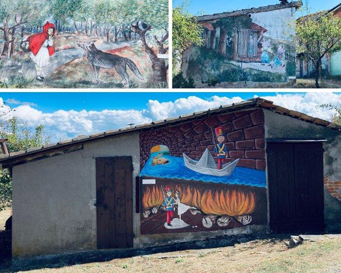 I murales di I Bersani