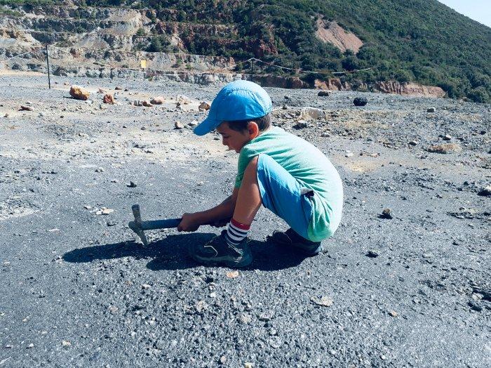 Il Parco Minerario dell'Elba con bambini