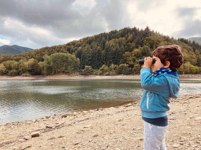 Il Lago Brasimone in autunno