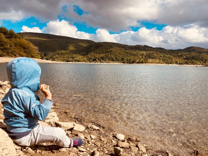 Al Lago Brasimone con i bambini